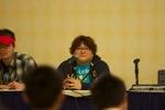 Seiji Mizushima at his panel