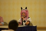 Momoi Halko at her panel
