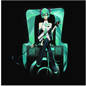 Hatsune Miku Dreams of Electric Sheep Nucleus Art Gallery and Store